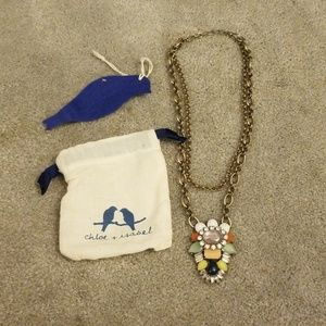 Chloe + isabel heritage bloom convertible necklace